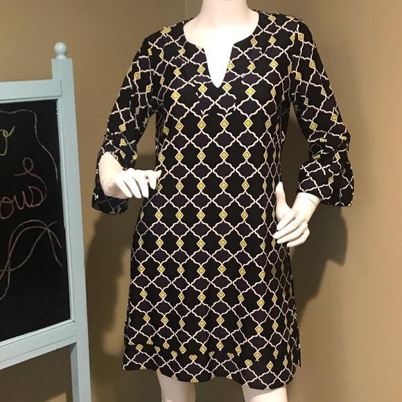 Jude Connally Dresses & Skirts - Jude Connally Sz M geometric caftan dress
